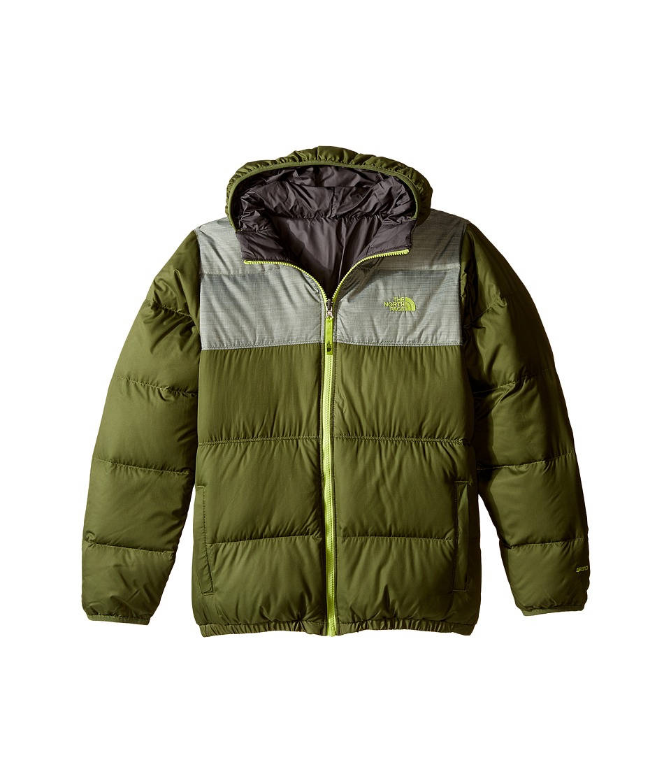 The North Face Kids - Reversible Moondoggy Jacket (Little Kids/Big Kids) (Terrarium Green) Boy