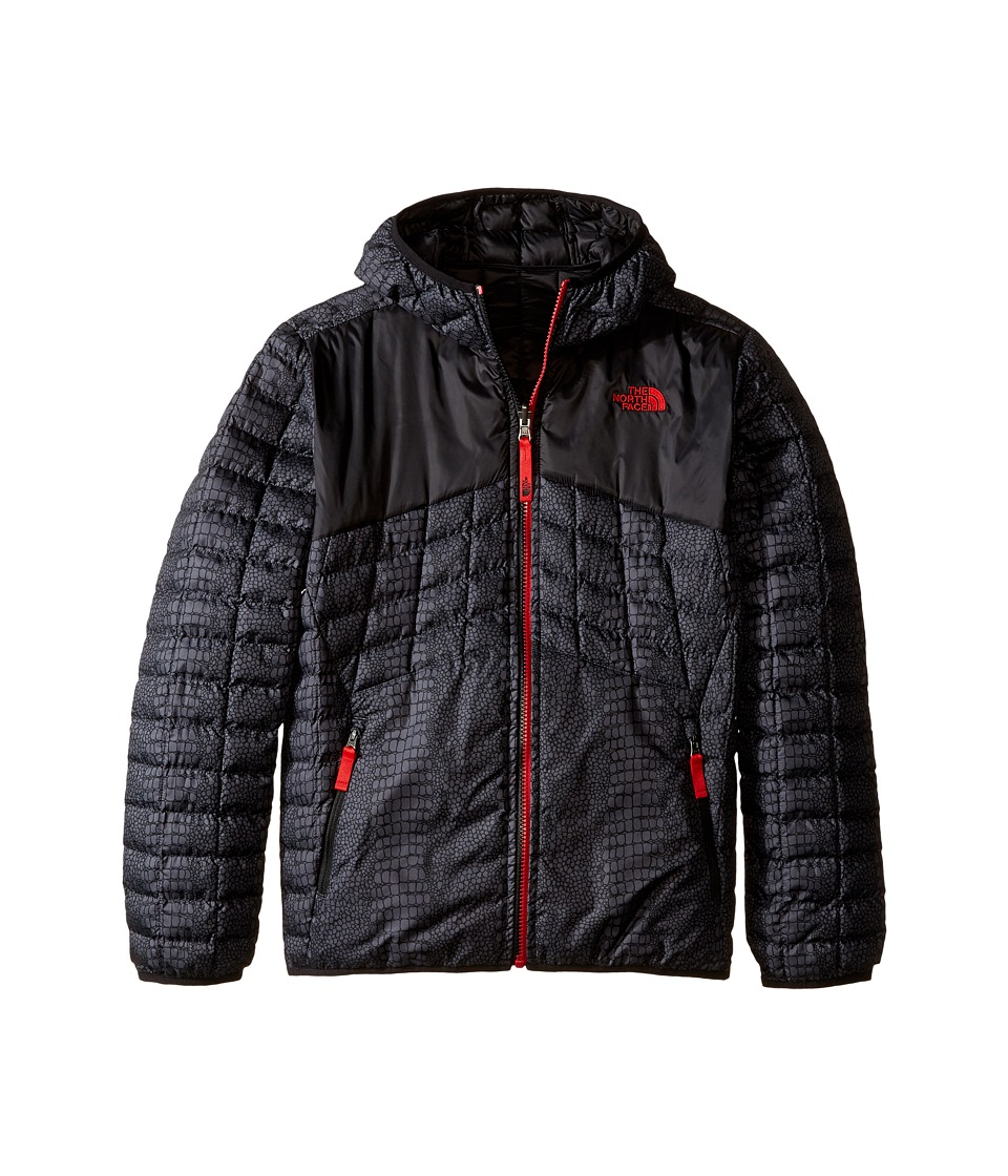 The North Face Kids - Reversible Thermoball Hoodie (Little Kids/Big Kids) (TNF Black Croc Print) Boy