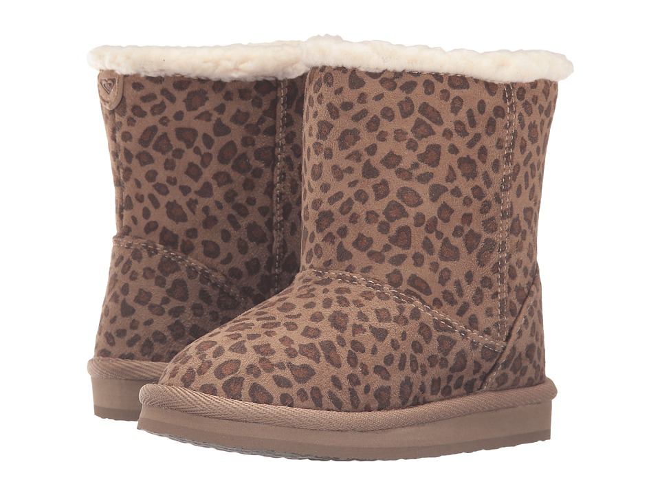Roxy Kids - Molly (Toddler) (Cheetah Print) Girls Shoes