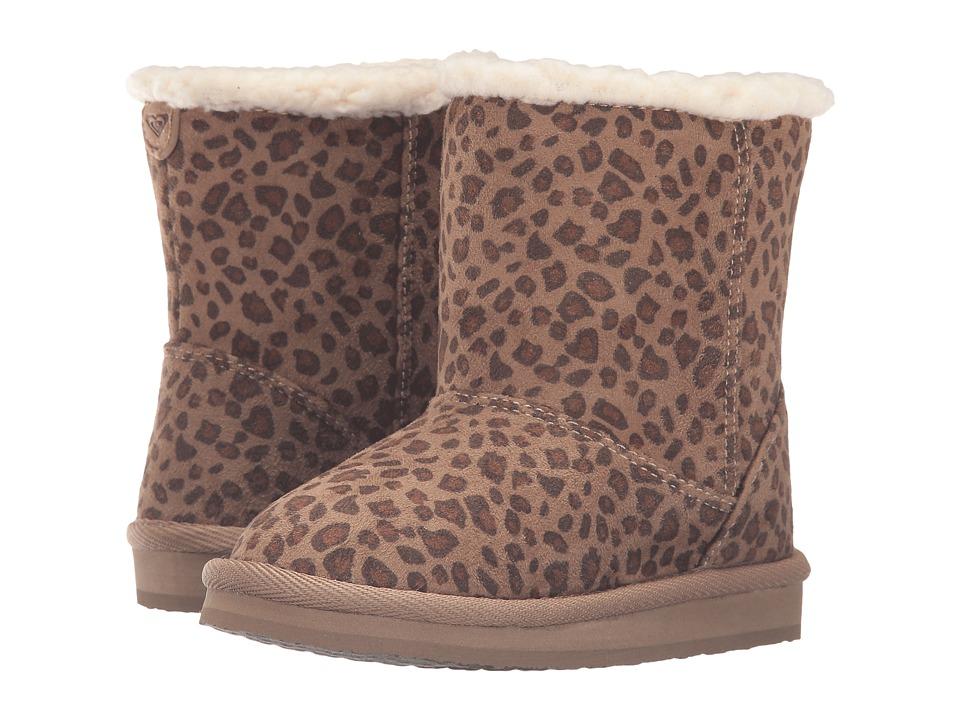 Roxy Kids Molly (Toddler) (Cheetah Print) Girls Shoes