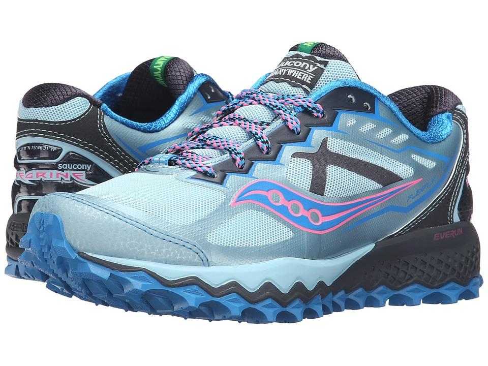Saucony - Peregrine 6 (Sky/Blue/Pink) Womens Shoes