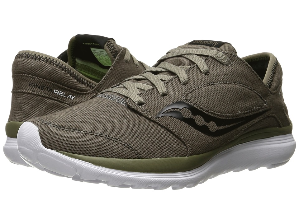 Saucony - Kineta Relay (Brown/Canvas) Mens Running Shoes