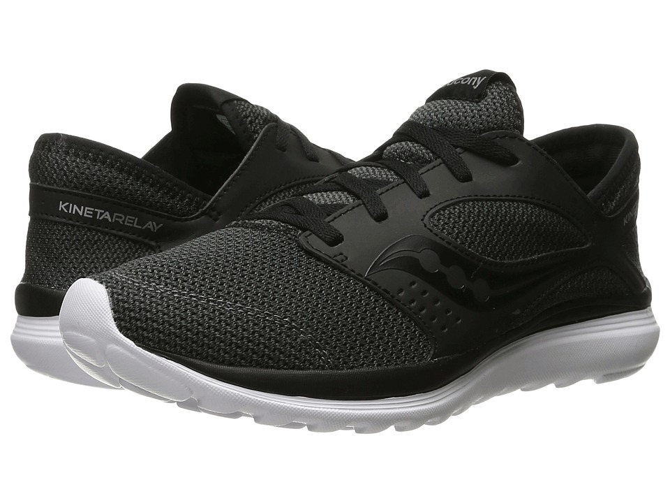 Saucony - Kineta Relay (Black/Black) Mens Running Shoes