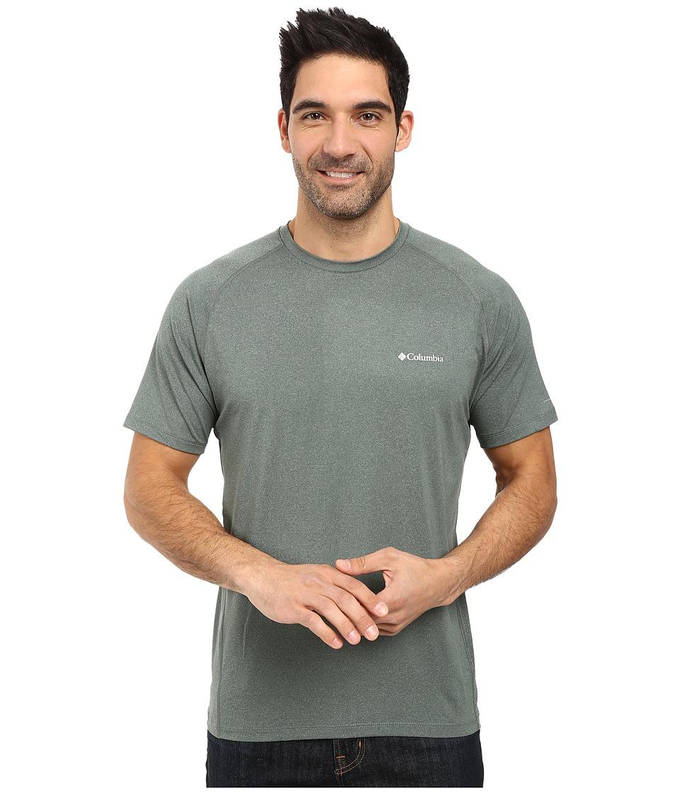 Columbia - Tuk Mountain Short Sleeve Shirt (Pond Heather) Men