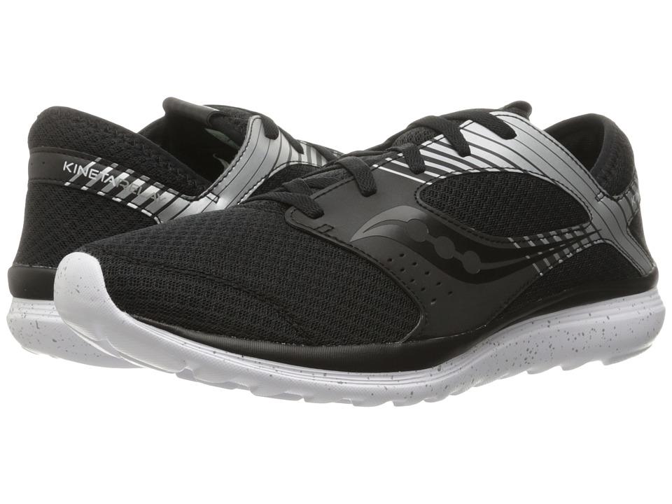 Saucony - Kineta Relay Reflex (Black/Silver) Men's Running Shoes