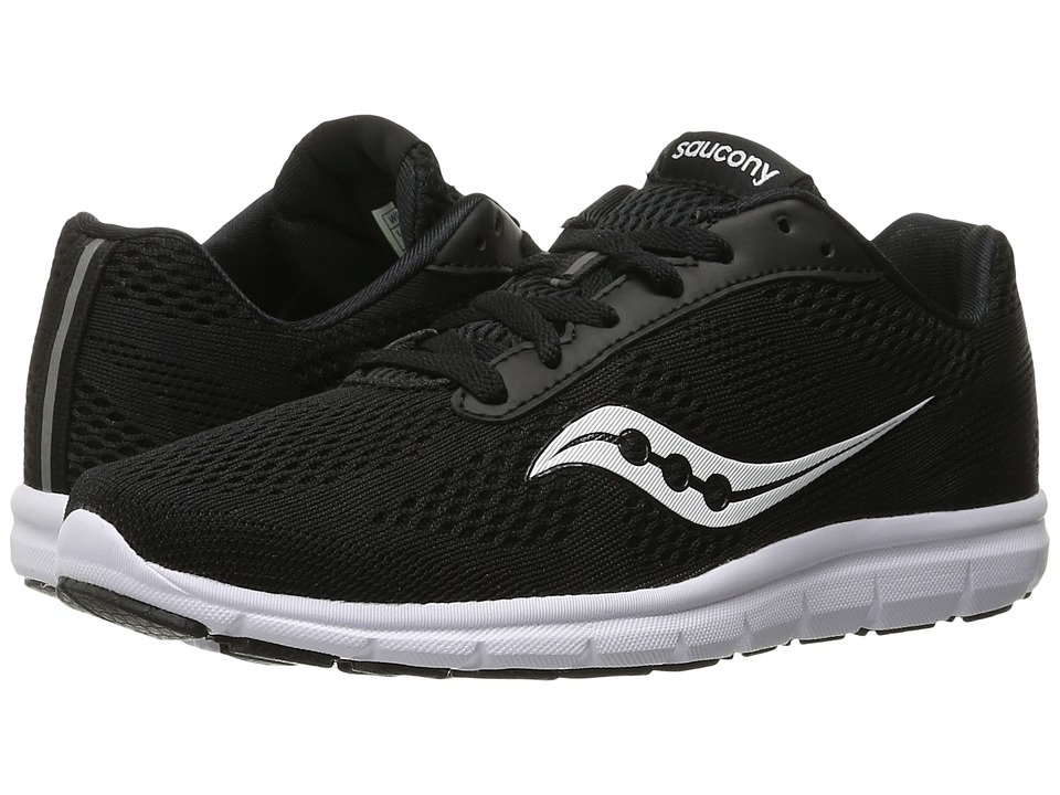 Saucony Ideal (Black/White) Women's Shoes