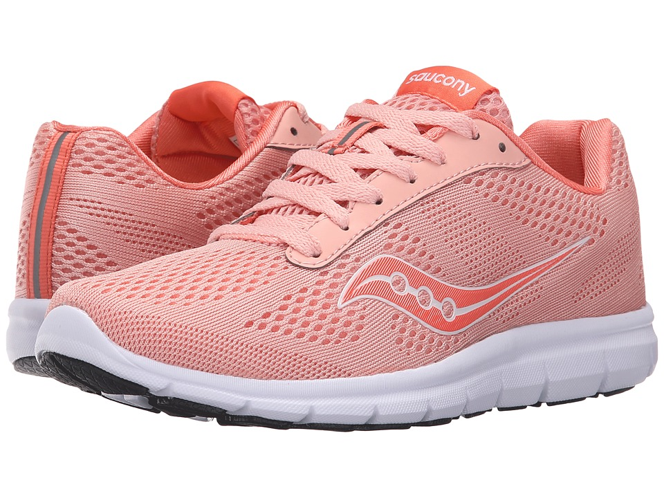 Saucony Ideal (Coral/White) Women