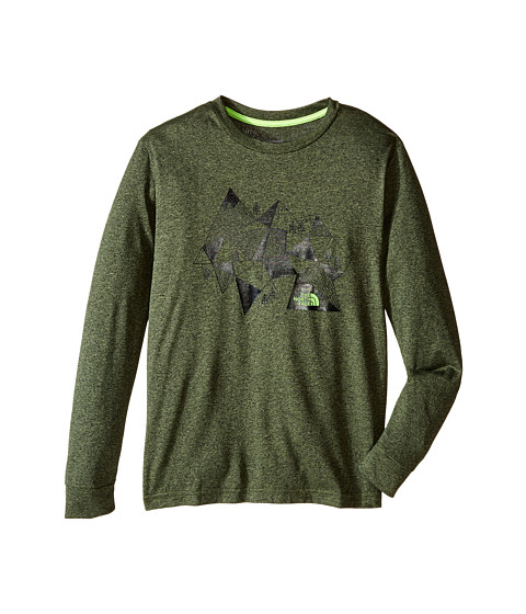 The North Face Kids Long Sleeve Reaxion Tee (Little Kids/Big Kids)