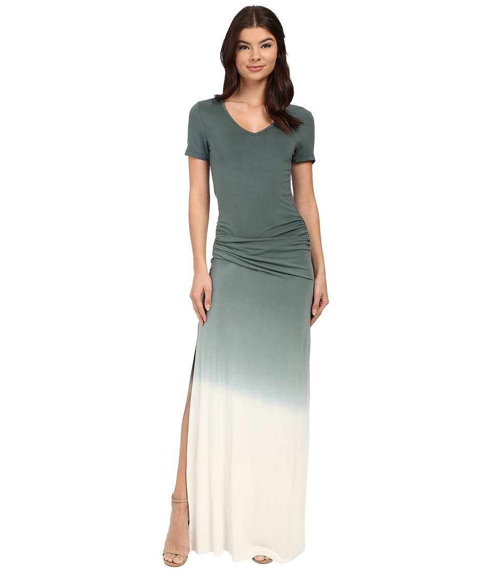 Young Fabulous amp Broke Bentley Maxi Olive Ombre 1 Womens Dress