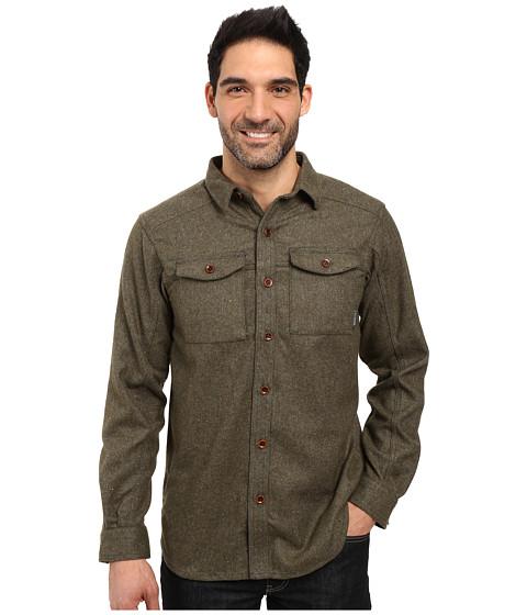 Columbia Sage Butte Long Sleeve Shirt - Deep Green