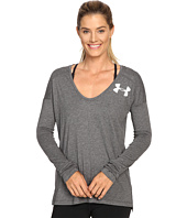 Under Armour - UA Favorite Long Sleeve Wordmark Back Shirt