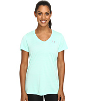 Under Armour - UA Tech Short Sleeve V-Neck Tee - Tiger