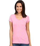 U.S. POLO ASSN. - Polka Dot Lace Trim V-Neck T-Shirt