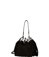 Alice + Olivia - Suede Fringe Bucket Bag