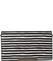 Alice + Olivia - Streak Snake Embossed Wallet Crossbody