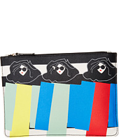 Alice + Olivia - Triple Threat Stripe Print Canvas Case