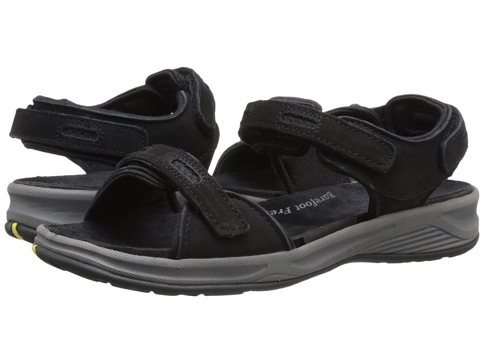 Drew - Cascade (Black Nubuck) Womens Sandals