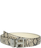 Ivanka Trump - 25mm Reversible Python To Smooth Belt
