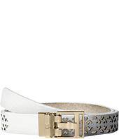 Ivanka Trump - 25mm Reversible Peekaboo Perf Belt