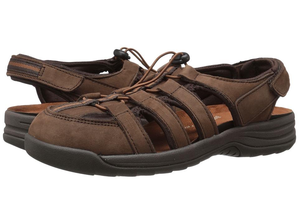 Drew Element (Brown Nubuck) Sandals