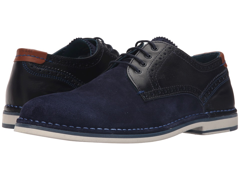 Ted Baker Ravado (Dark Blue Suede) Men