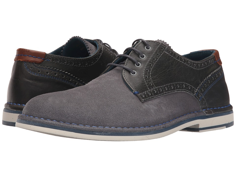 Ted Baker Ravado Light Grey Suede Mens Lace up casual Shoes