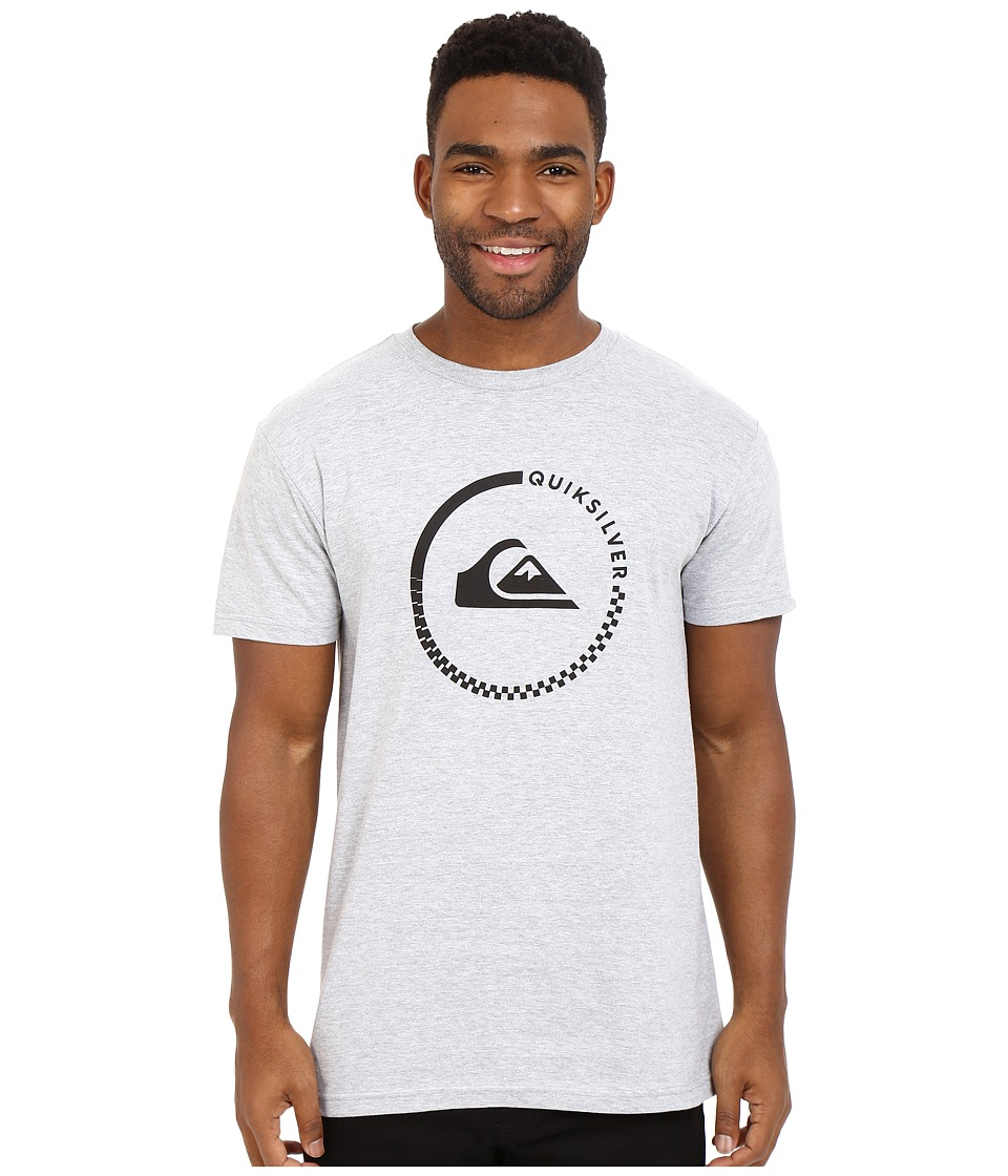 Quiksilver Everyday Active Tees Athletic Heather Mens Short Sleeve Pullover