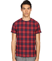 Mostly Heard Rarely Seen - Plaid Woven Tee