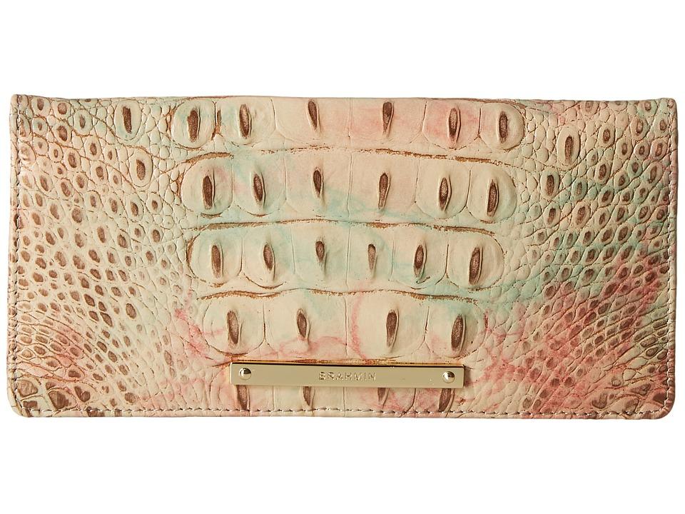 Brahmin Ady Wallet Sandstone Wallet Handbags