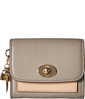 COACH - Charm Flap Coin Case