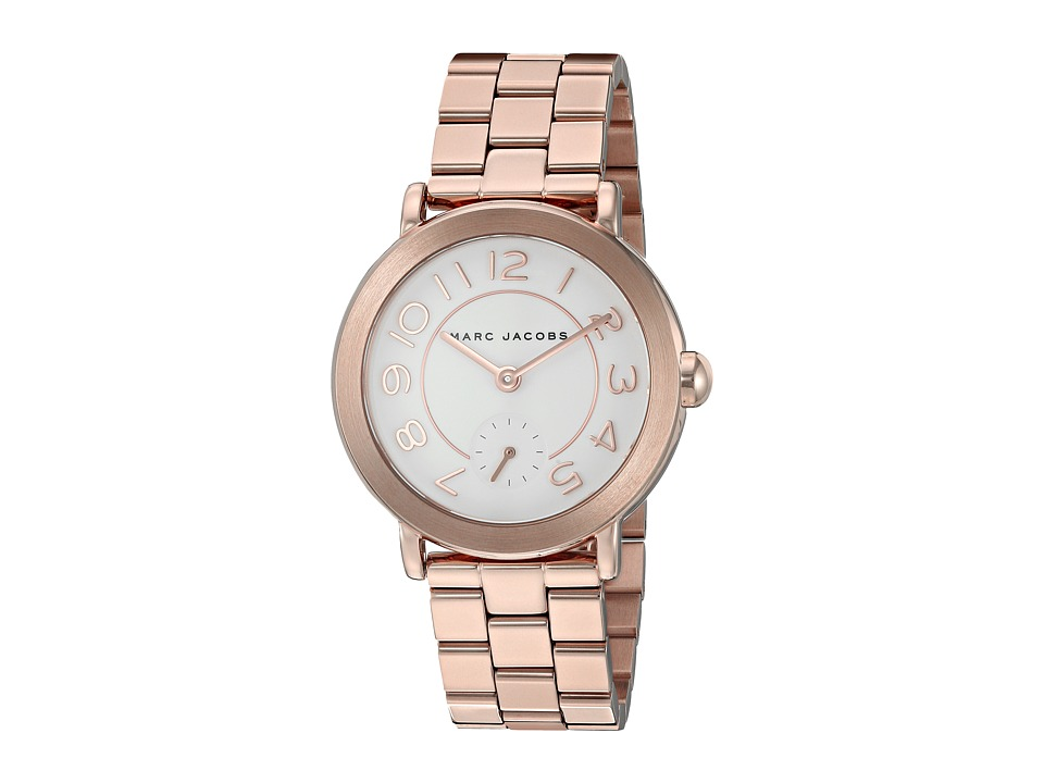 Marc Jacobs - Riley - MJ3471 (Rose Gold Plated) Watches