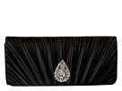 Jessica McClintock Maren Satin Clutch (Black)