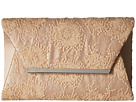 Jessica McClintock Ryder Embroidered Clutch (Champagne)