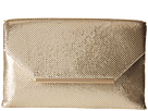 Jessica McClintock Keira Envelope Clutch (Light Gold)