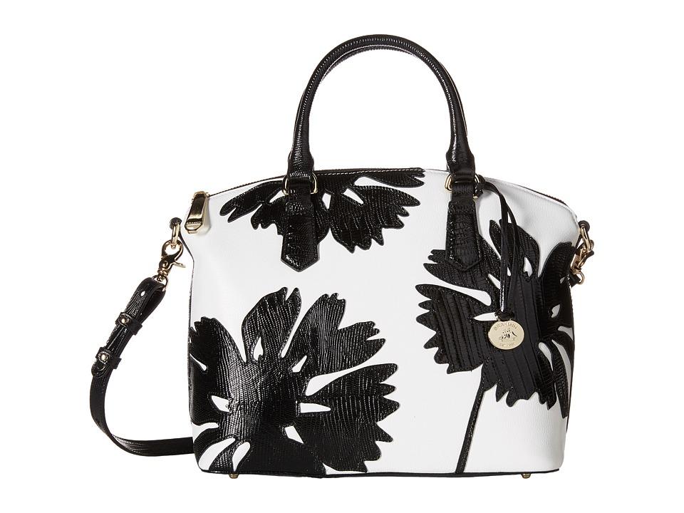 Brahmin Duxbury Satchel White Satchel Handbags