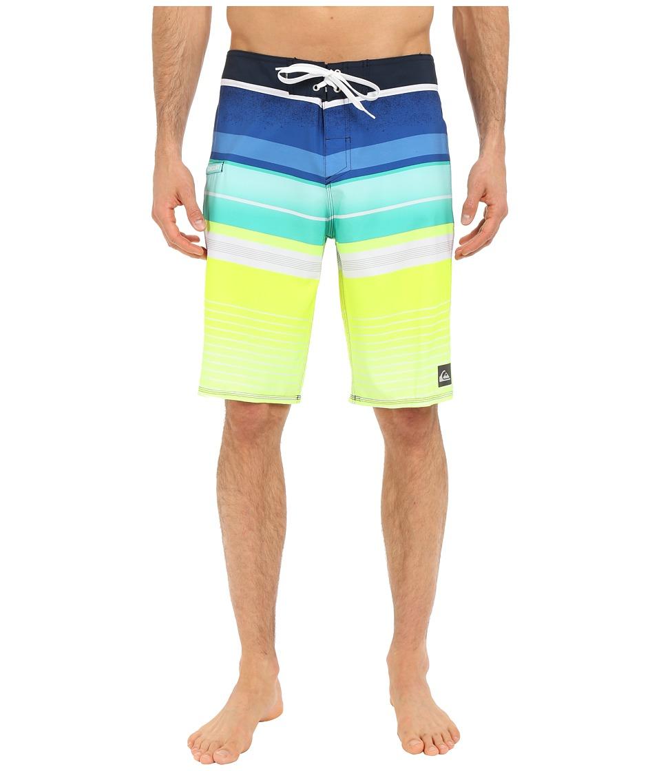 Quiksilver Everyday Stripe 21 Boardshorts (Navy Blazer) Men