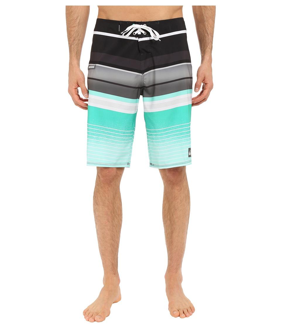 Quiksilver Everyday Stripe 21 Boardshorts Tarmac Mens Swimwear