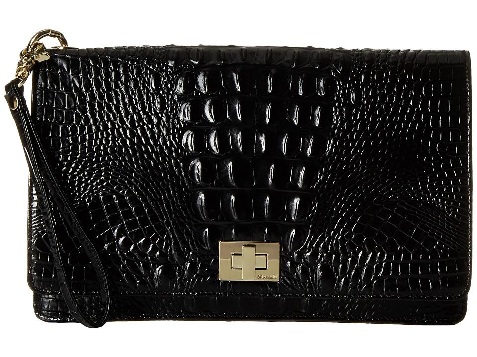 Brahmin Lily Pouch Black Handbags