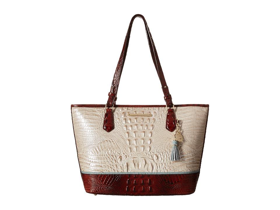 Brahmin Medium Asher Linen Handbags