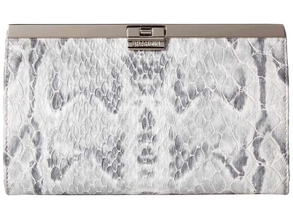 Brahmin Avery Grey Handbags