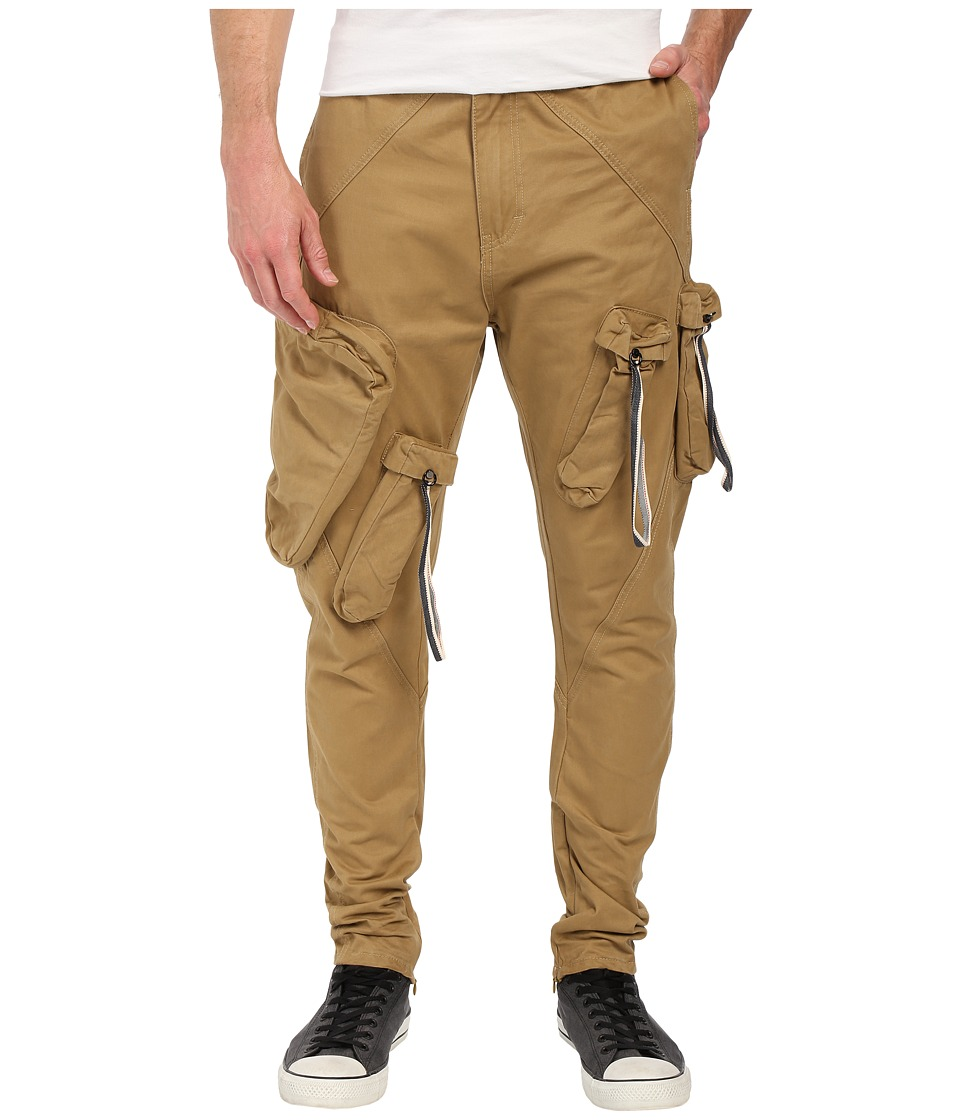Mostly Heard Rarely Seen Military Cargo Bottom Khaki Mens Clothing