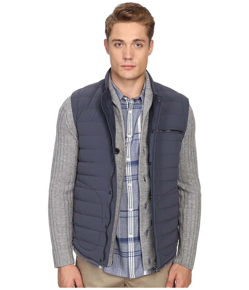 Vince - Quilted Nylon Down-Fill Gilet (Pewter) Men