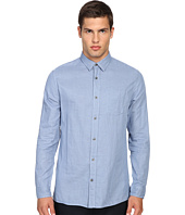 Vince - Double Weave Square Hem Long Sleeve Melrose w/ Pocket
