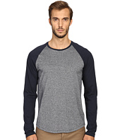 Vince - Rustic Mouline Long Sleeve Baseball Tee