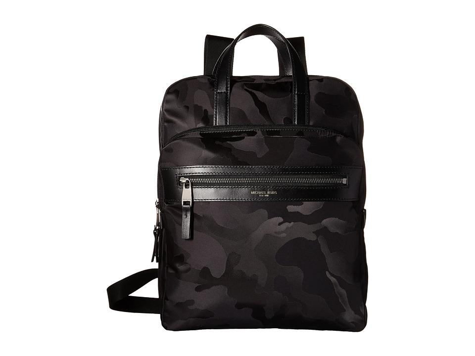 Michael Kors Kent Medium Flightpack Black Bags