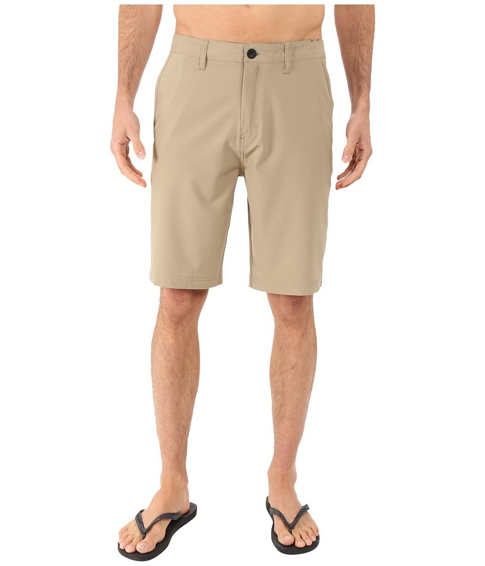 Quiksilver Every Solid Amphibian 21 Walkshorts Elmwood Mens Shorts