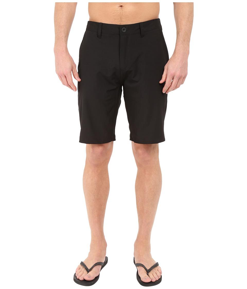 Quiksilver Every Solid Amphibian 21 Walkshorts Black Mens Shorts