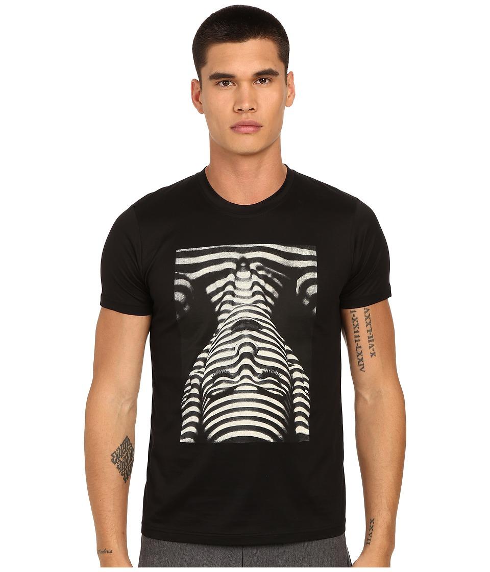 PRIVATE STOCK The Ripple T Shirt Black Mens T Shirt