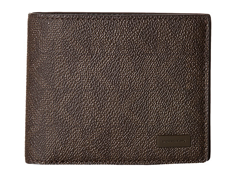 Michael Kors Jet Set Billfold W Passcase - Brown