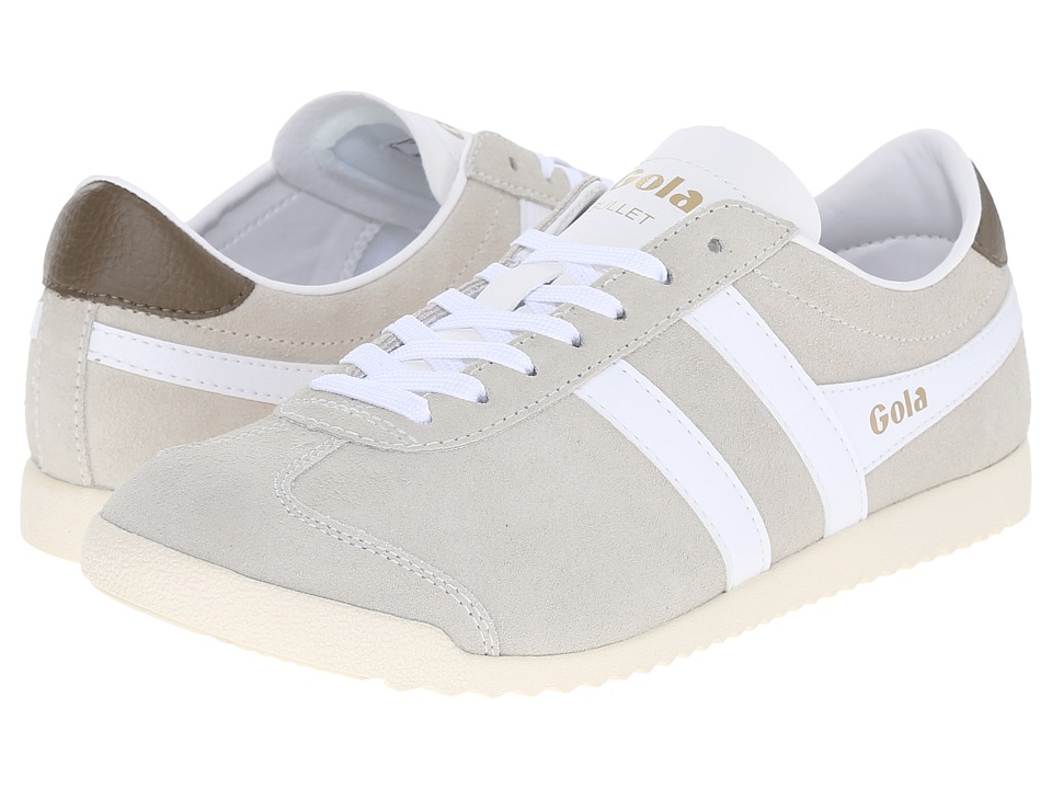 Gola Bullet Suede Off White/White Womens Shoes